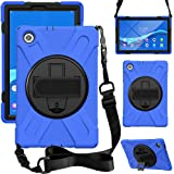 """ZenRich Case Compatible for Lenovo Tab M10 FHD Plus Case (2020) TB-X606F TB-X606X 10.3"""" Case with Kickstand,Hand Strap and Sh"""