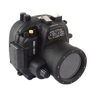 Meikon 50M 160FT Carcasa Submarina Para Canon EOS 650D 700D ...