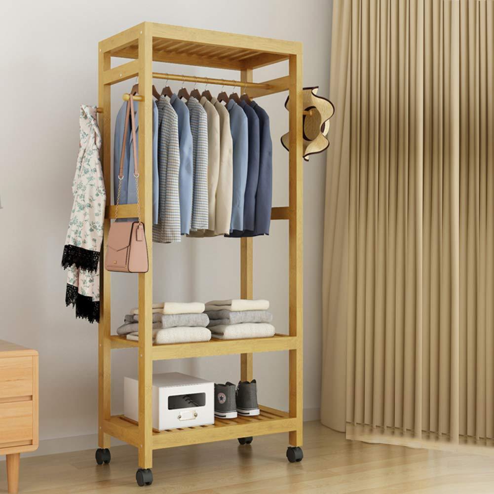 G 60x35x165cm(24x14x65inch) Hall Tree Entryway Storage Shelf,Coat Rack with shoes Rack,Hallway Organizer 1-Tier Shelves 3 in 1 Design Easy Assembly-J 100x35x165cm(39x14x65inch)