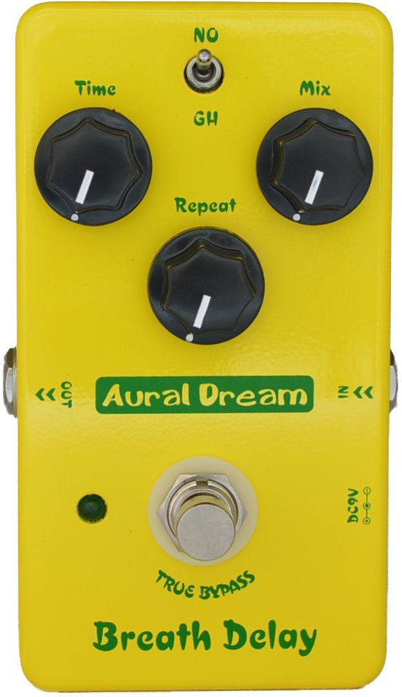 Aural Dream Breath Delay Classical Atmosphere Analog BBD Delay Post rock 600ms delay time 2 modes Guitar Effects Pedal True Bypass