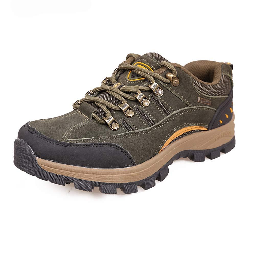 SELCNG Chaussures de randonnée Unisexes Chaussures de Marche imperméables Chaussures de Marche pour Hommes avec Chaussures de randonnée pour Sports de Plein air-43