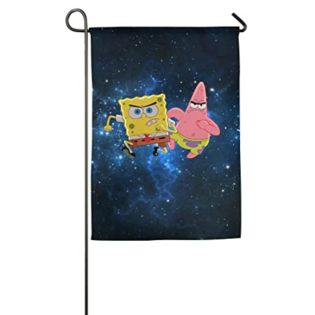 Spongebob And Patrick Star House Flags Outdoor Flags