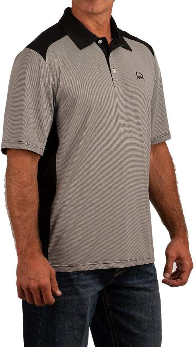 Cinch Mens Short Sleeve Arenaflex Polo MTK1832001