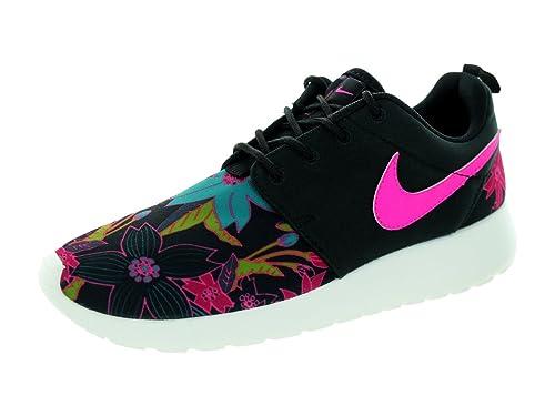 5789a8d30c0 Nike Mujer Nike PARA MUJER ROSHE ONE ESTAMPADO PREM puntera baja Zapatillas  - Black Rosa