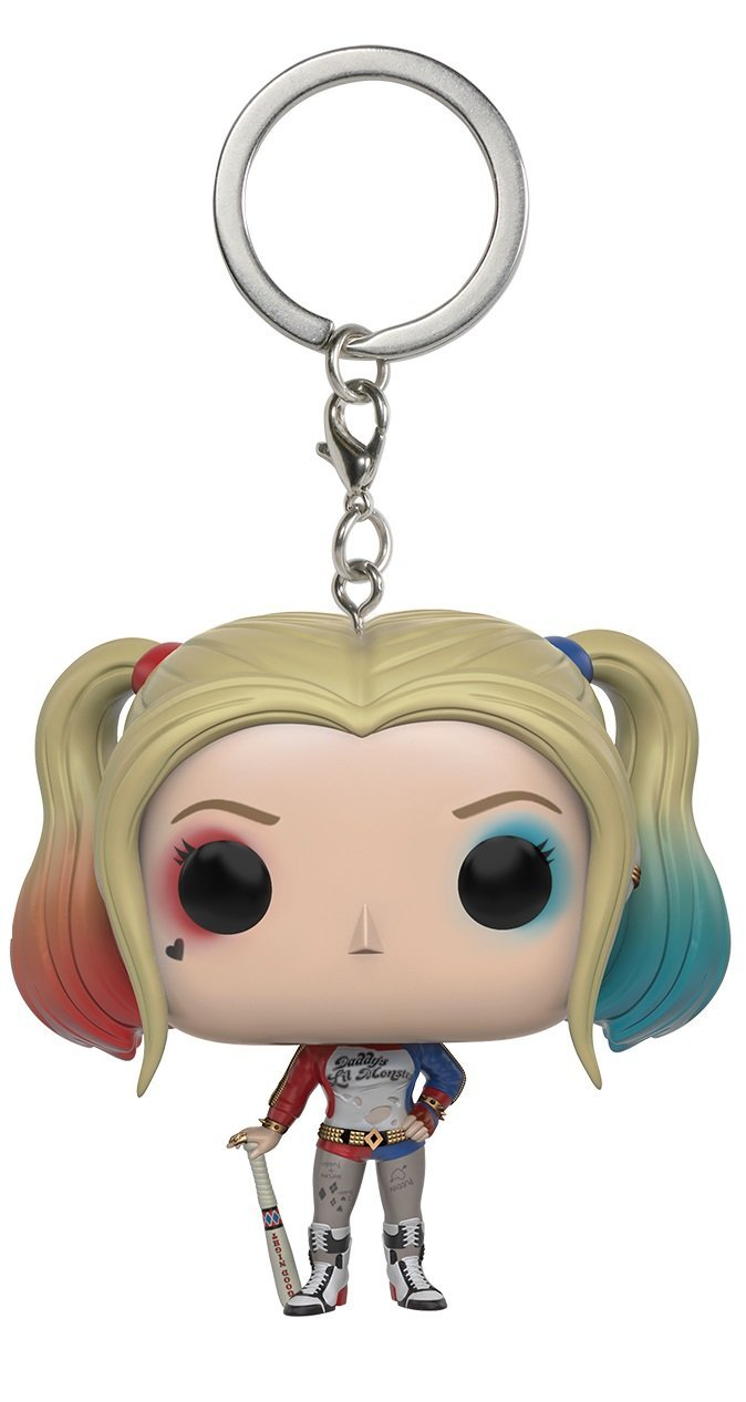 Funko POP Keychain Suicide Squad Harley Quinn Action Figure
