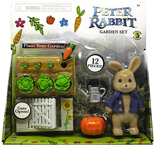 Peter Rabbit Garden Set With Peter Action Figure