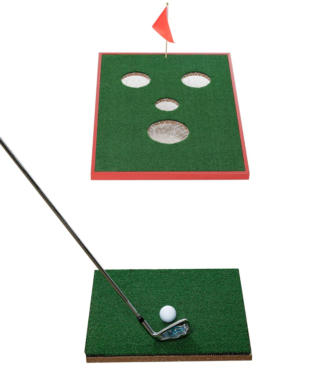 SPRAWL Cornhole Golf Chipping Game – Indoor Outdoor Golf Chip Game for Tailgate,Beach,Office,Backyard
