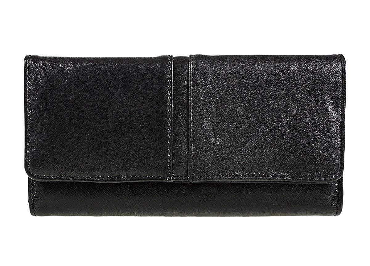 c70c93b77fa9 Ladies Luxury Soft Black Leather Purse By Lorenz 1230