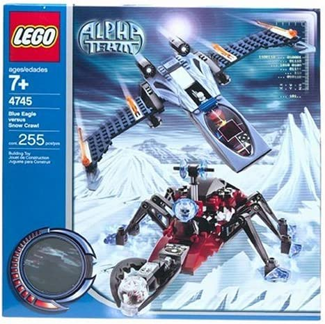 LEGO Stories & Themes Alpha Team: Blue Eagle vs. Snow Crawler (4745)