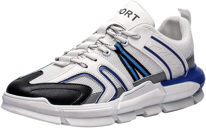 HEETEY - Zapatillas de Deporte para Hombre, Ligeras, Transpirables, Transpirables, Ligeras, para Exteriores, Transpirables: Amazon.es: Zapatos y complementos