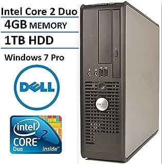 dell optiplex 760 business small form factor desktop computer intel core 2 duo e7500 293
