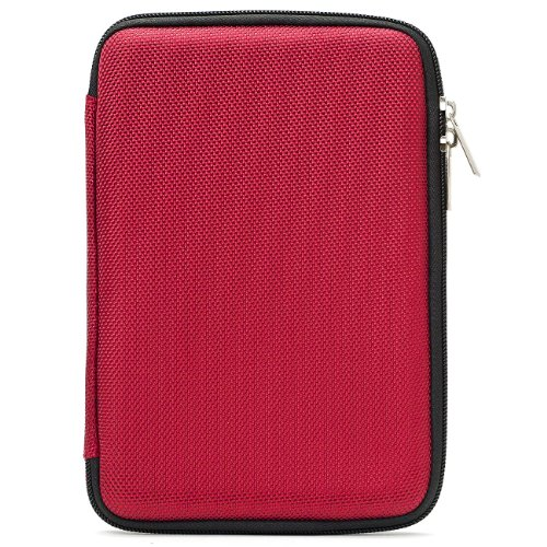 Travel Hard Nylon Lightweight Case For HP Slate 7 Extreem, 7 Plus HD, 7 HD, 7 / Mesquite 7 Tablet (Hp 7 Inch Slate Case)