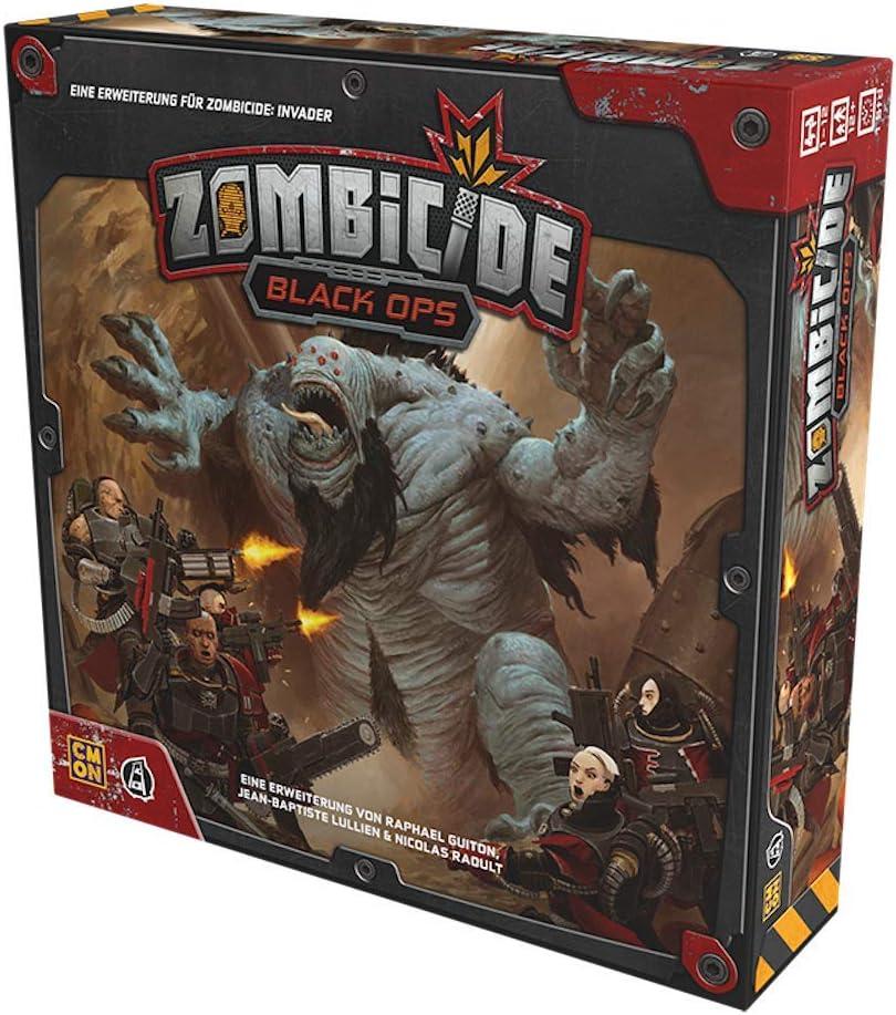 Zombicide - Invasor - Negro Ops- Extensión Alemán: Amazon.es: Juguetes y juegos
