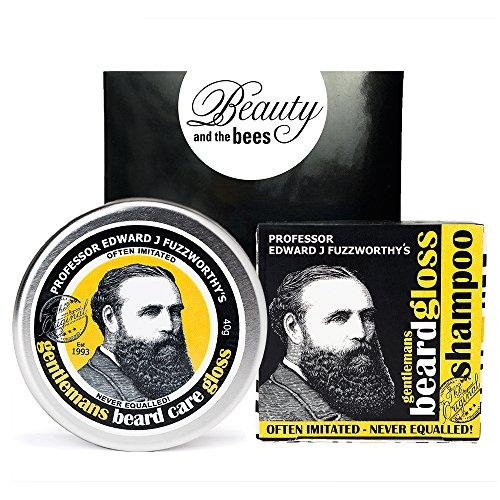 Beard Care Kit Professor Fuzzworthy Beard Care Gloss and Beard (Gro Bar)