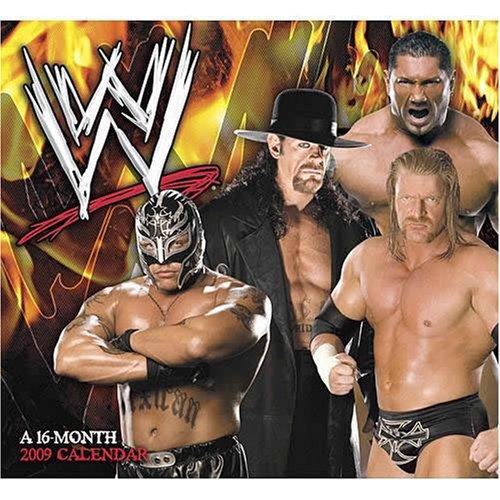 WW Superstars 2009 Calendar ()
