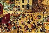 Buyenlarge Children's Games by Pieter Bruegel the Elder Wall Decal, 48'' H x 32'' W
