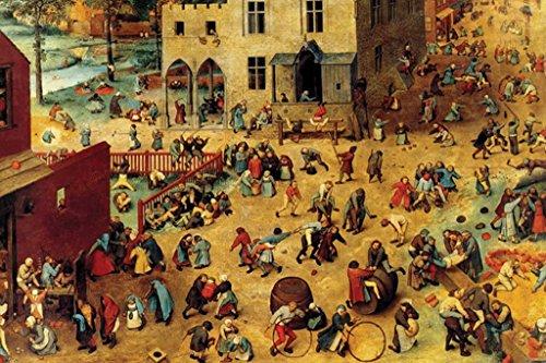 Elder Pieter Childrens Games - Buyenlarge Children's Games by Pieter Bruegel the Elder Wall Decal, 24