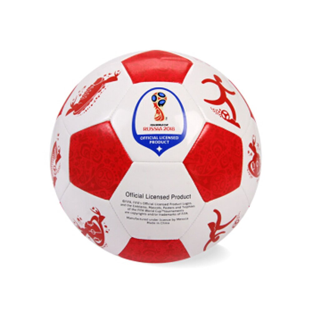 olSus 2018 Fifa World Cup Soccer 4 # PVCトレーニングCompetition Football fab7145 – レッド B07DGBM83D