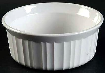 CorningWare French White 7-Ounce Ramekins Set of 2 & Amazon.com: CorningWare French White 7-Ounce Ramekins Set of 2 ...