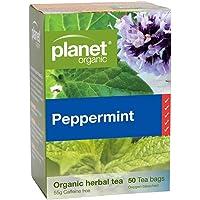 Planet Organic Peppermint Herbal Tea 50 Teabags
