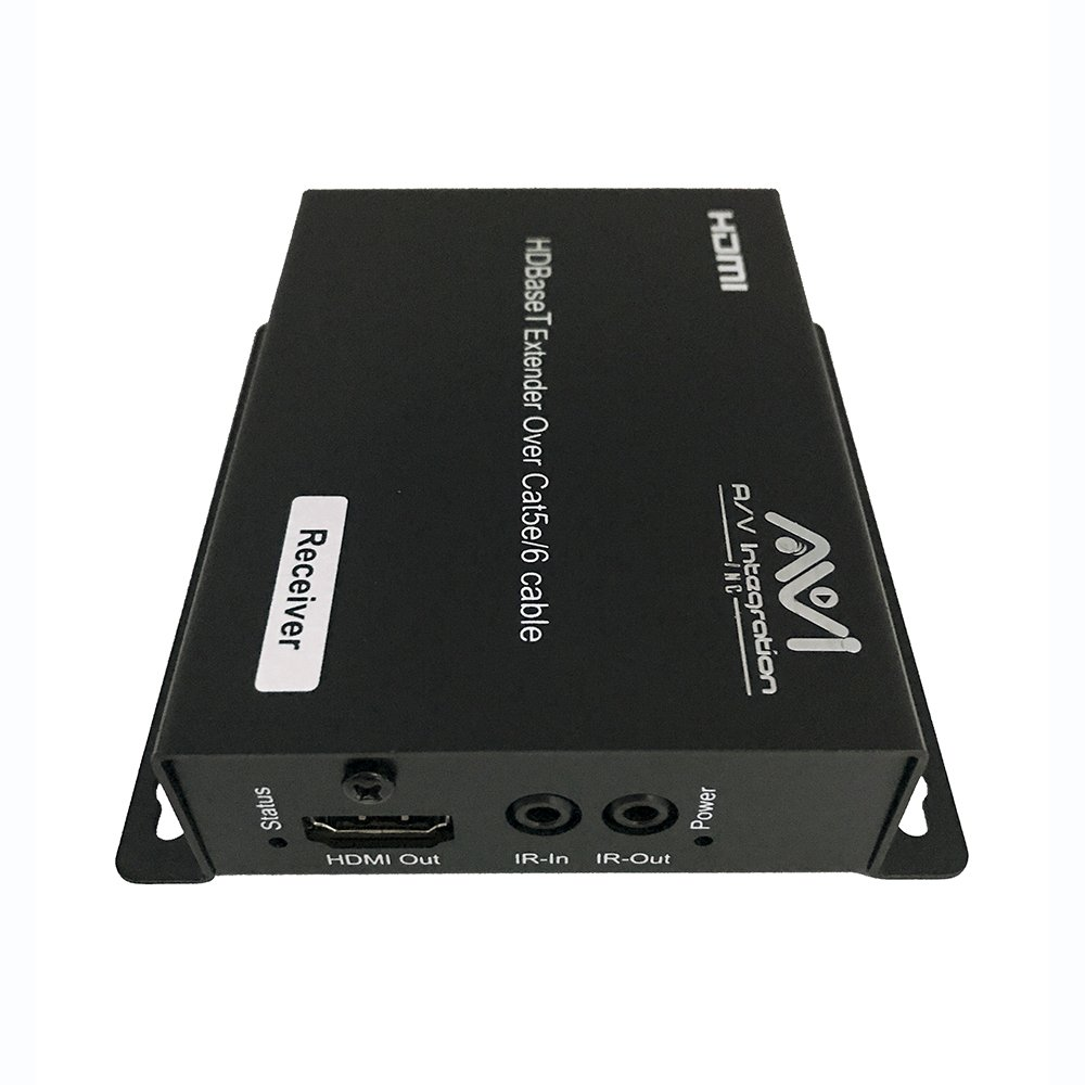 AVI HDBaseT HDMI 2.0 HDCP 2.2 4K 4X4 HDMI Matrix Extender Switcher With 4 POE Receivers Over Single Cat5e/6 Cable Supports Ultra HD 3D 60HZ @ 4Kx2K with Bi-directional IR (Matrix+4receivers) by AVI (Image #6)
