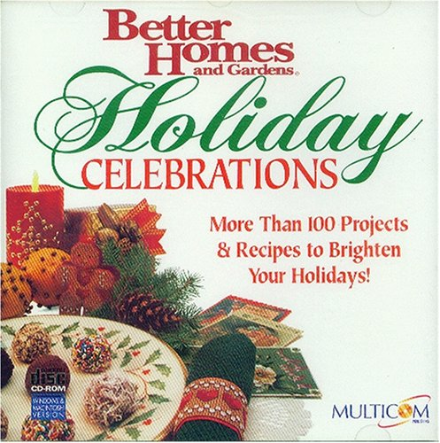 Better Homes & Gardens Holiday Celebrations (Win/Mac)