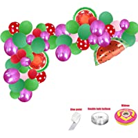 Watermelon Party Supplies,78 Balloons Watermelon Theme Decoration,Watermenlon Foil Balloons Dot balloon,Watermelon Party Decorations,Birthday Party Supplies