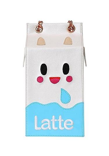 9ad46cda1c Tokidoki Sweet Gift Collection Latte Milk Carton Crossbody Bag: Handbags:  Amazon.com