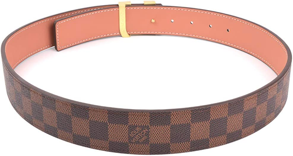 brown, 95cm Fashion Leather Metal Buckle Belt Unisex Belt for Men//Women Casual Business