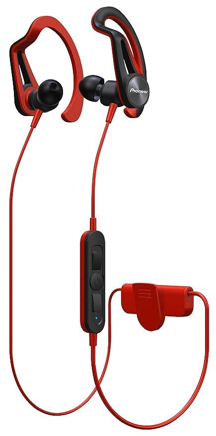 Pioneer e7bt de R Bluetooth Auriculares Deportivos con 7 Horas de Tiempo de Unidad, schweis