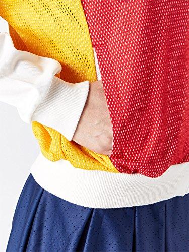 ADIDAS BR3557-F17 Women`s New York Pharrell Williams Tennis Jacket Chalk White by adidas (Image #4)