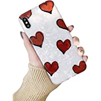 Hishiny Cover per iPhone XS Max, Custodia per iPhone XR, Ultra Sottile Cassa Morbido TPU Silicone Case AntiGraffio, Antiurto Protettiva Case per iPhone XR XS Max