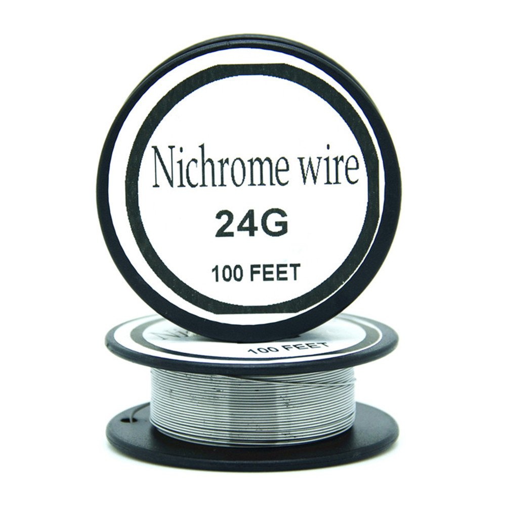 Nichrome wire36g 34g 32g 30g 28g 27g 26g 24g 22g 20g Calibre 100 FT 0,2 mm Resistencia AWG Resistencia (36Gauge/100Feet) zhouyoungsuk