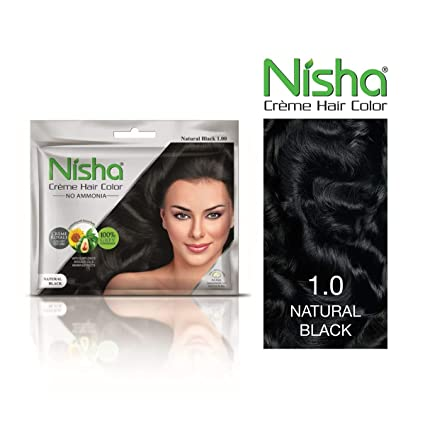 Buy Nisha No Ammonia Creme Hair Color With Sunflower Avocado Oil And