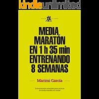 Media maratón en 1 h 35 min entrenando