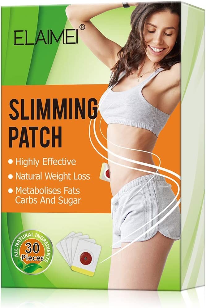 Slimming Sticker, Weight Loss Sticker, Slimming Tightening Sticker for Shaping Waist, Abdomen and Buttocks. 30Pcs