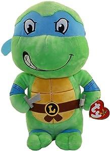 "Ty Inc Beanie Babie Leonardo Mutant Ninja Turtle 13"""