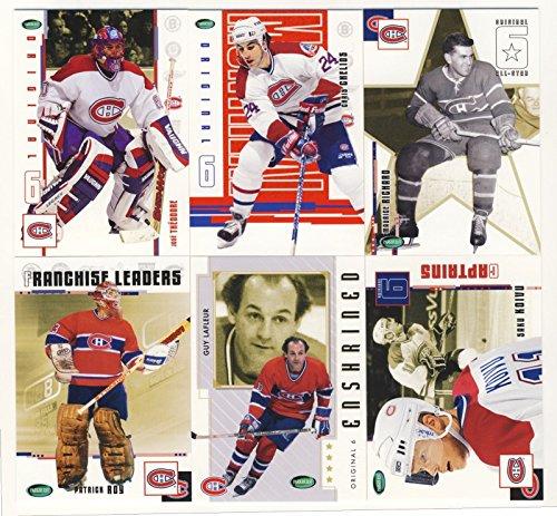 2003-04 Parkhurst Original Six Hockey Montreal Canadiens 100-Card Set