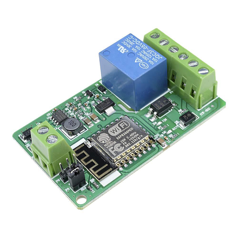 ESP8266 220V 10A DC 7-30V Network Relay WIFI Module … diymore 5001824