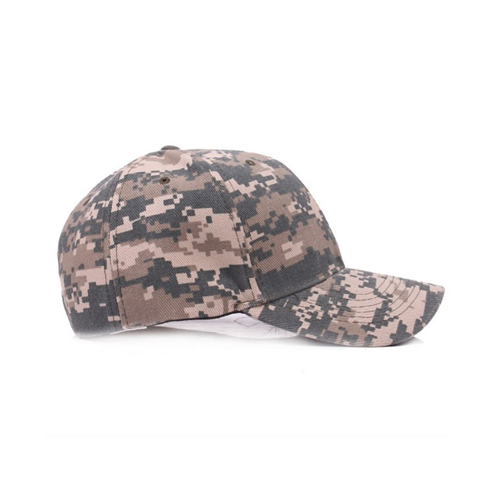 WINOMO Baseball Cap UltraKey Army Military Camo Cap Baseball Casquette Camouflage Hats for Hunting Fishing Outdoor Activities (Camouflage Green)