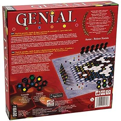 Devir Iberia 221718 Genial, Juego de Mesa (BGENI): Juguetes y juegos