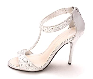 41294c0ea9d Image Unavailable. Image not available for. Color  Caparros Womens Esther  Open Toe T-Strap ...