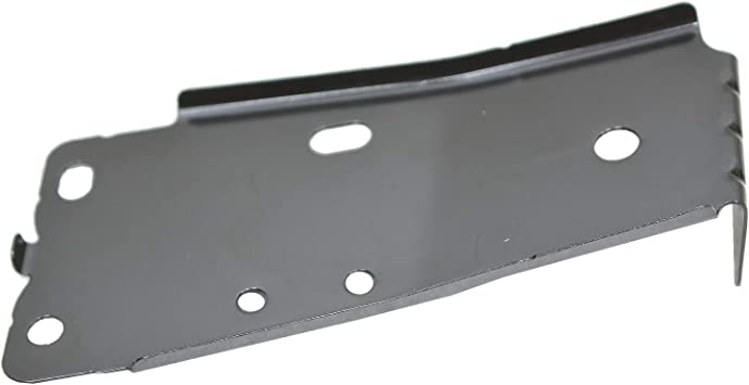 2008-2013 Nissan Rogue Rear Driver Side Outer Bumper Cover Bracket; Made Of Pom Plastic Partslink NI1142106C