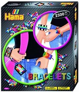 Hama - Juego creativo de abalorios para hacer pulseras