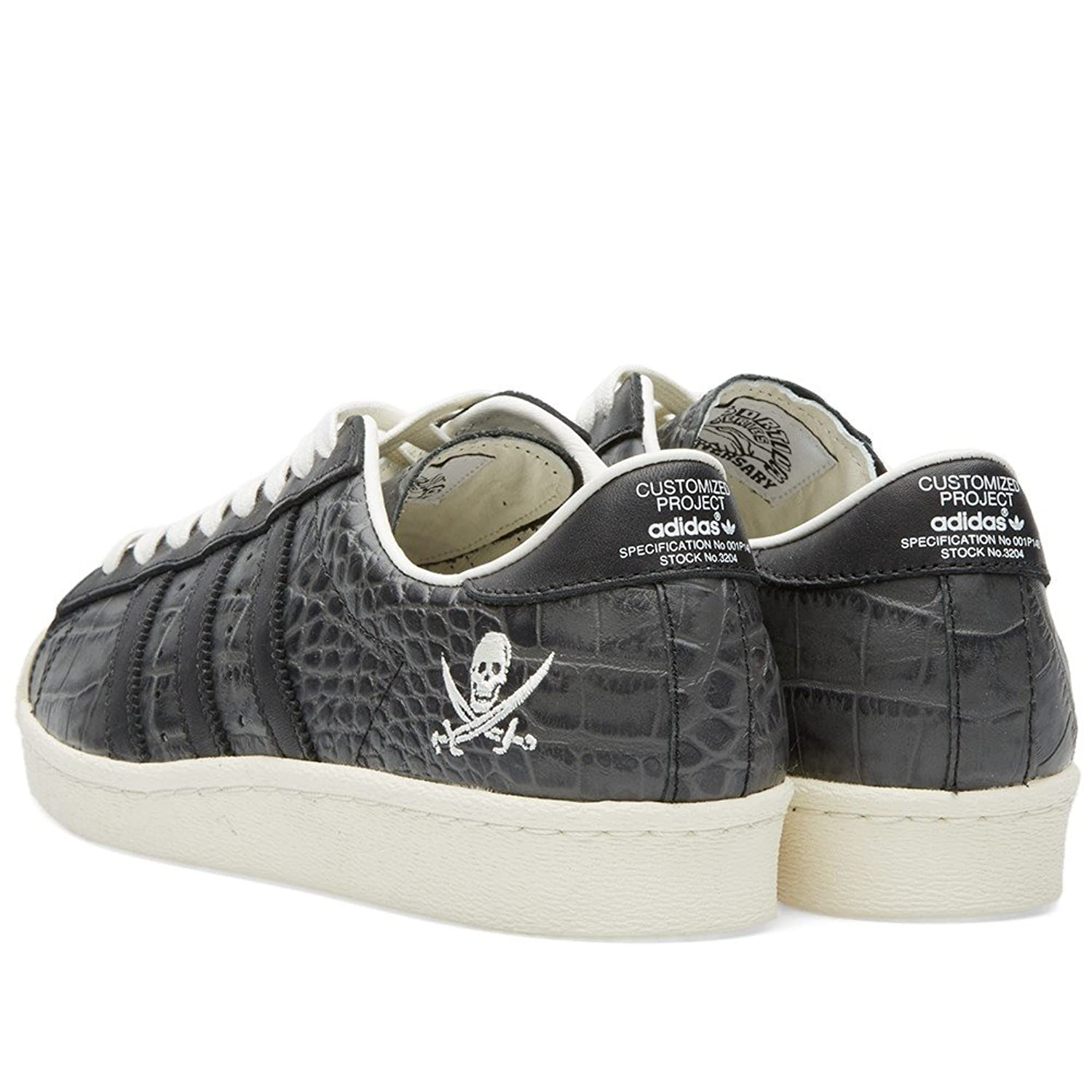 adidas Neighborhood x Consortium 10th Anniversary Superstar - Cblack/Cwhite Trainer Size 5.5 UK vLghB3Wxt