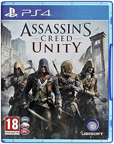 Ubisoft Assassins Creed Unity, PS4 Básico PlayStation 4 vídeo ...