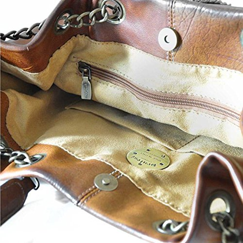 Pratesi Barga bolsa de hombro - B175 Bruce (Coñac) Cereza