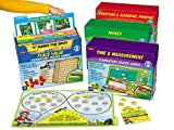Lakeshore Math File Folder Game Libraries - Gr. 2-3 - Complete Set