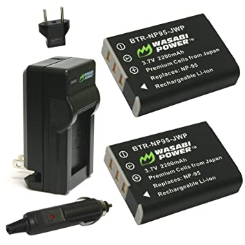 Amazon.com: Wasabi Power – Batería y Cargador para Fujifilm ...
