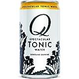 Q Mixers Tonic Water, Premium Cocktail Mixer, 7.5 oz (12 Cans)